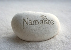 Namaste Skype Yoga Therapy Greeting