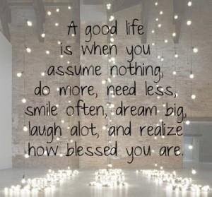blesssings