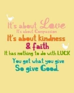 love not luck