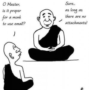 social media meditation