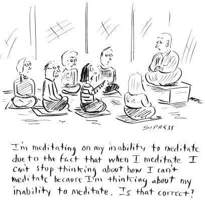 meditation on meditating by meditators