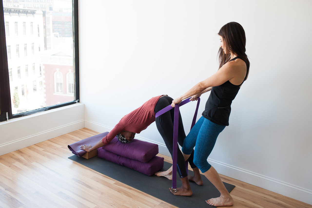 personalized yoga stretch