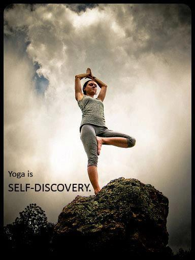 yoga is self discovery