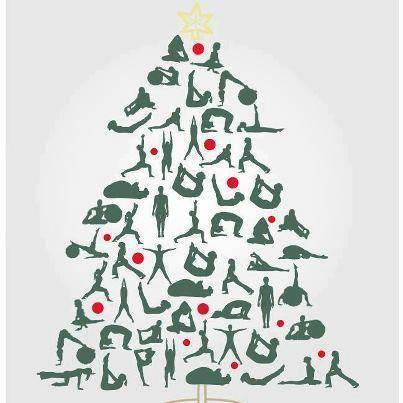 christmas tree yoga