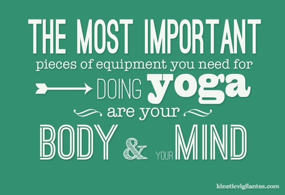 it all comes together on your yoga mat