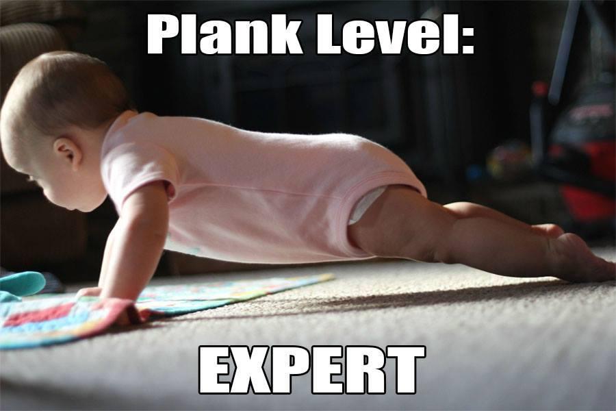 plank like an expert
