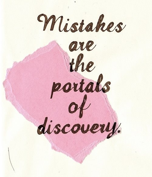 mistakes as portals