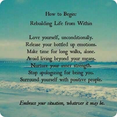 rebuild life