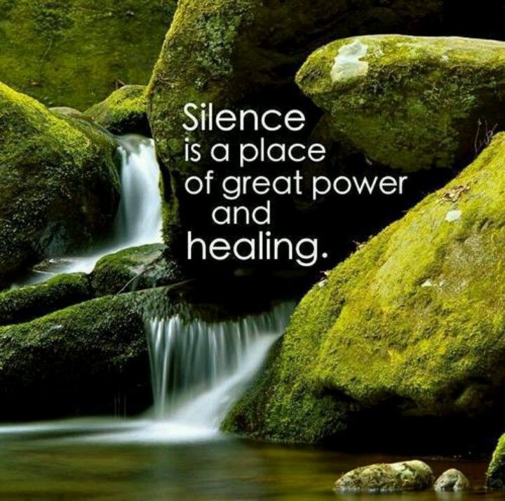 silence is a place