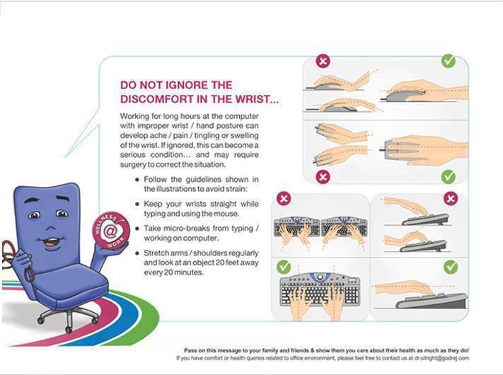 Yogatherapy for wrist discomfort