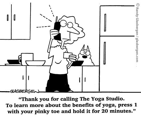 yoga benefits comic