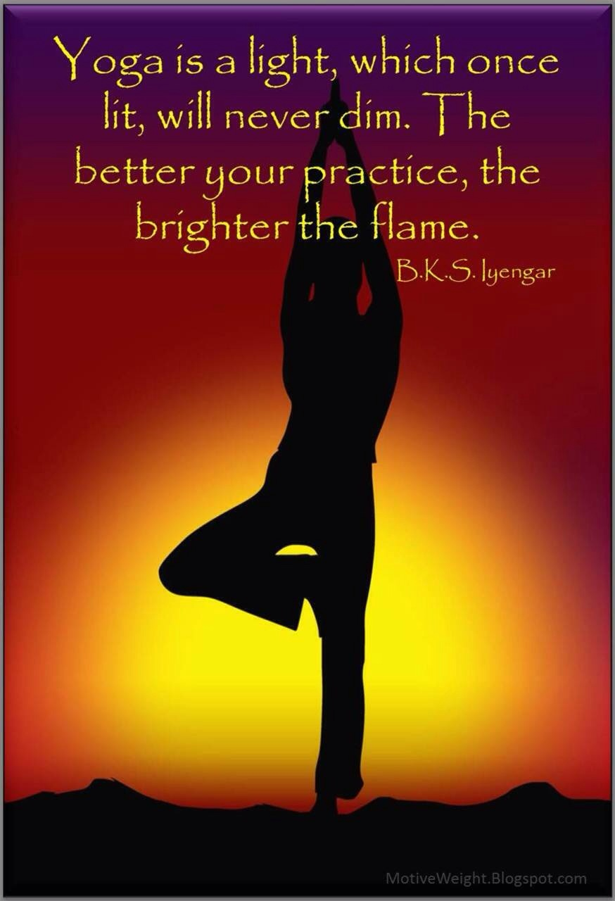 yoga = light