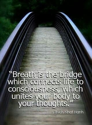 breath as the bridge