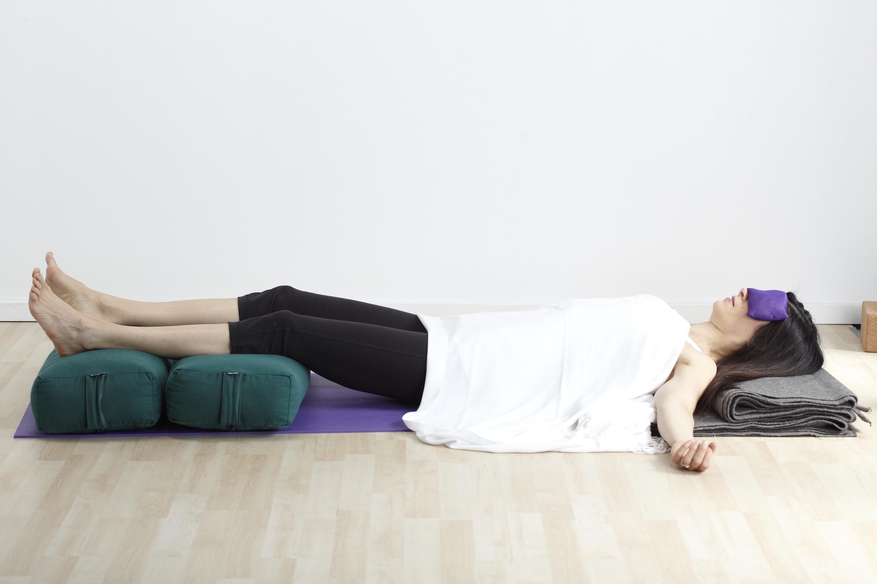 why right side after savasana