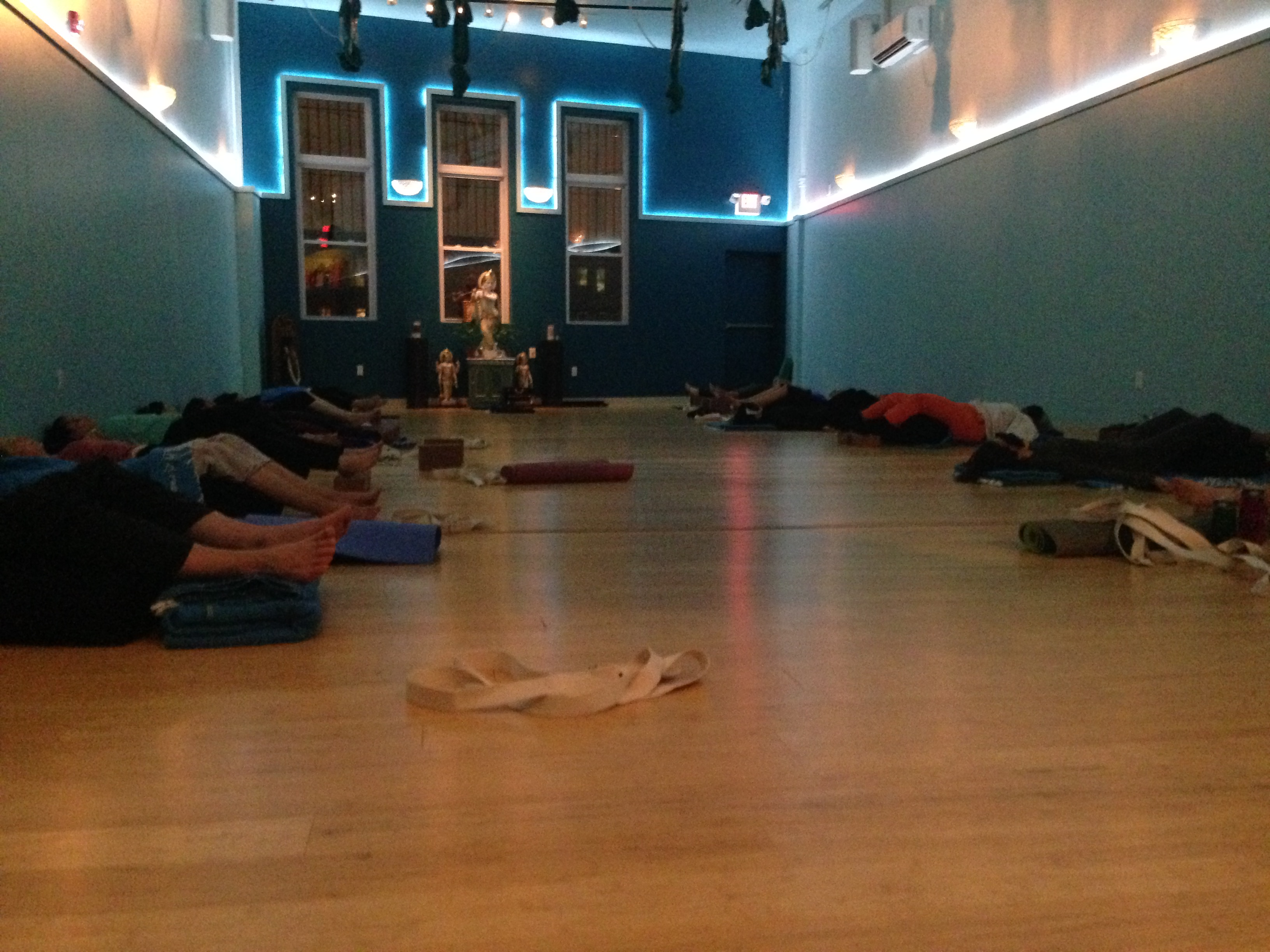 restorative yoga at Jivamukti Yoga Center Jersey City