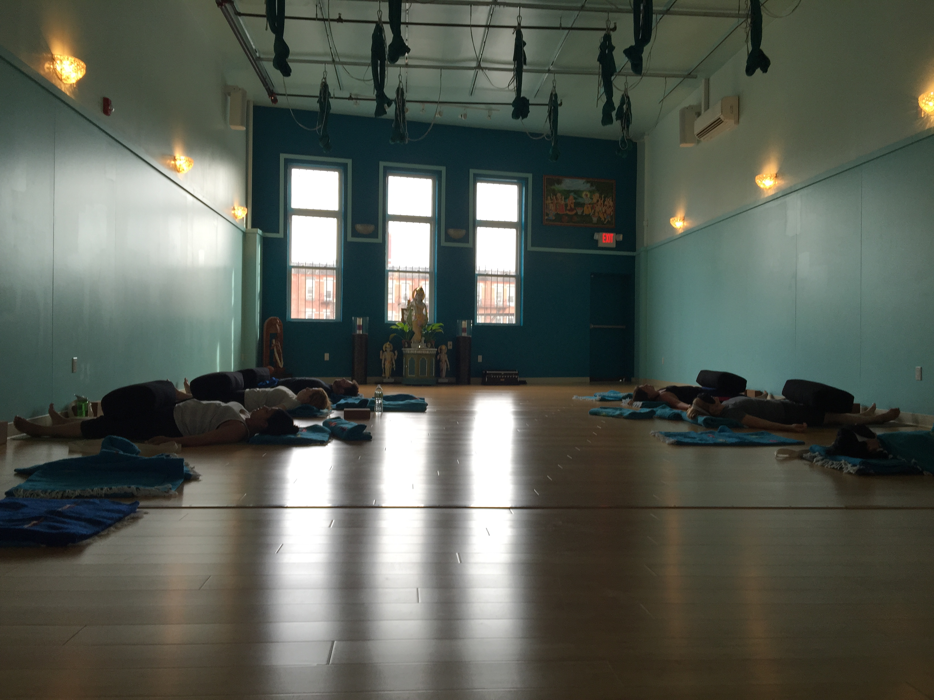 group restorative yoga classes