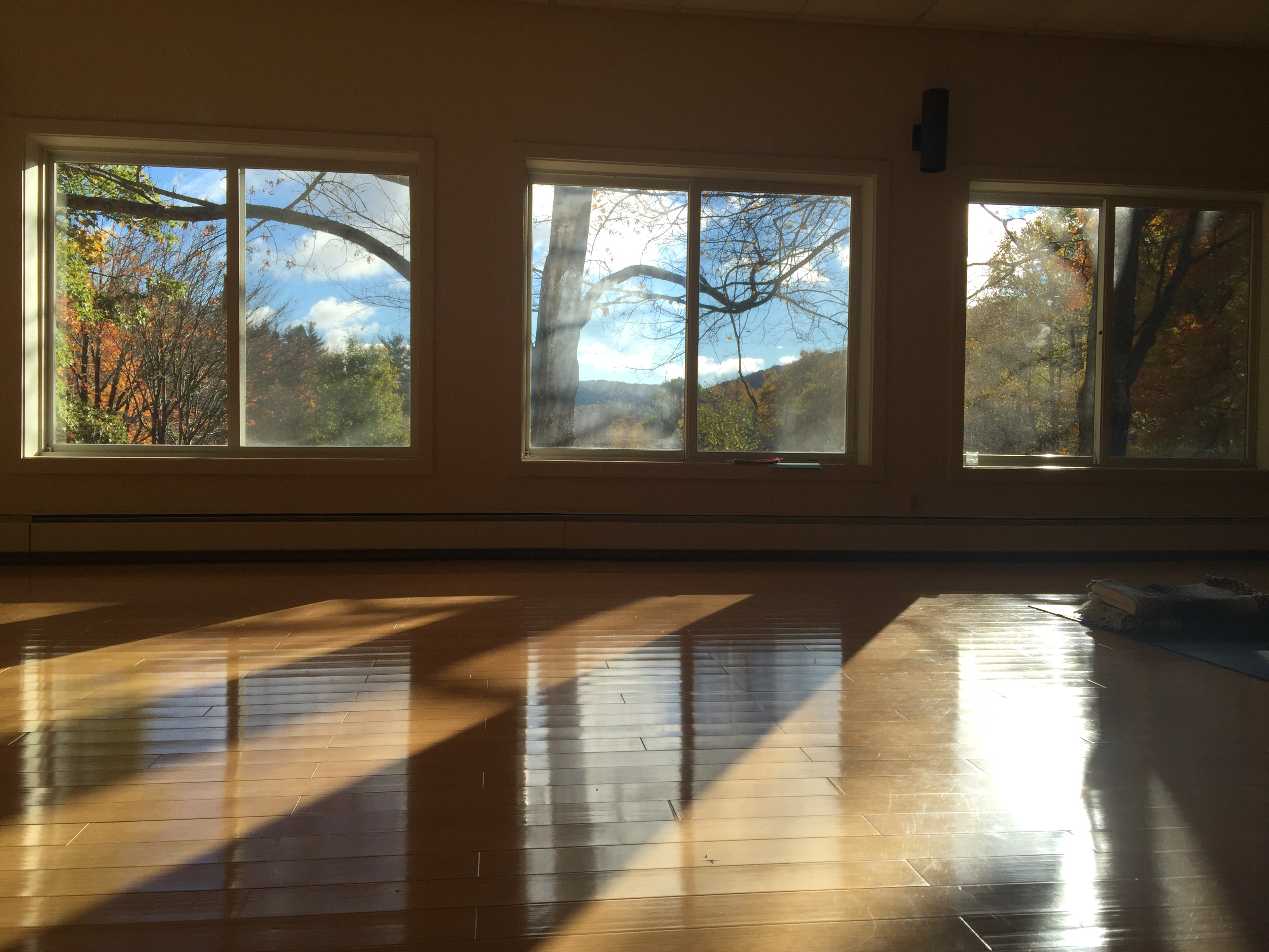 how to create a home yoga practice space
